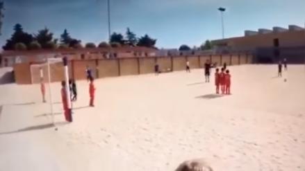 YouTube: Hijo de Cristiano Ronaldo sorprende en las redes con gol de tiro libre