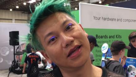 ¿Pestañas LED?, mira el nuevo invento que combina moda con tecnología