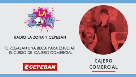 ¡Gana una beca para estudiar el curso de Cajero Comercial en Cepeban!