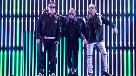 Premios Juventud 2017: Chris Jeday se unió a J Balvin, Arcangel y Ozuna para cantar 'Ahora Dice'