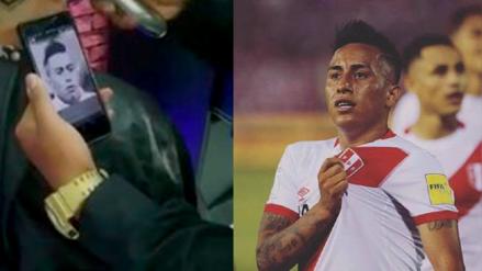 Christian Cueva compartió la locura que hizo un hincha de la selección peruana
