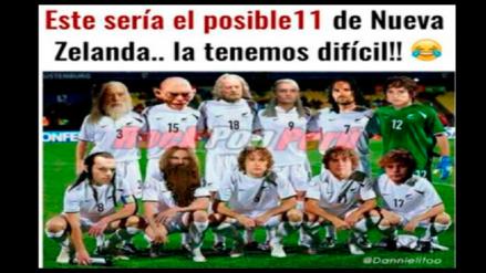 Perú vs. Nueva Zelanda: los memes que ya calienta el partido de repechaje
