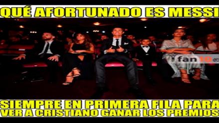 Los memes de Cristiano Ronaldo y Messi luego de los Premios The Best