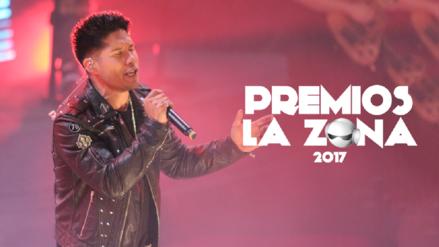 Premios La Zona 2017: Las mejores fotos de Chyno Miranda en el escenario
