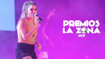 Premios La Zona 2017: Marielle y su mejores postales en la premiación