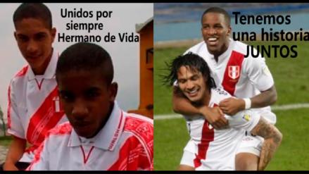 Jefferson Farfán le dedicó un emotivo video a Paolo Guerrero