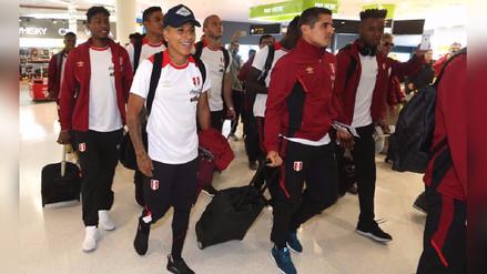 Así fue la llegada de la selección peruana a Nueva Zelanda