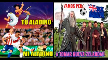 Perú vs. Nueva Zelanda:  siguen los divertidos memes que calientan el partido
