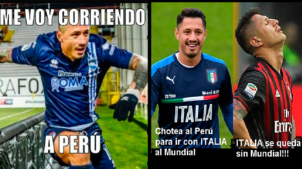 Gianluca Lapadula es víctima de memes tras la eliminación de Italia al Mundial