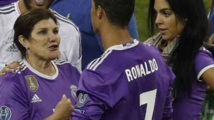Georgina Rodríguez y mamá de Cristiano Ronaldo protagonizaron un curioso video