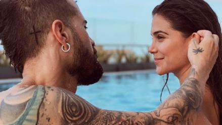 Mike Bahía se tatuó el rostro de Greeicy Rendón en la nalga