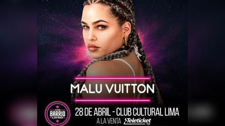 Malu Vuitton fue confirmada en el cartel del Festival Barrio Latino