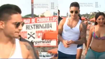 YouTube: El día que Maluma veraneó en la playa Agua Dulce de Chorrillos