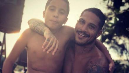 Instagram: Paolo Guerrero comparte fotos con su hijo mayor