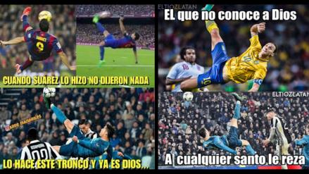 Siguen los memes de la 'chalaca' de Cristiano Ronaldo ante la Juventus