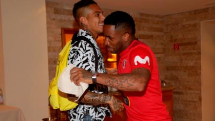 Selección peruana: así fue el encuentro entre Paolo Guerrero y Jefferson Farfán