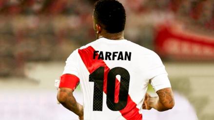 Jefferson Farfán dedicó un emotivo mensaje a los hinchas de la selección peruana