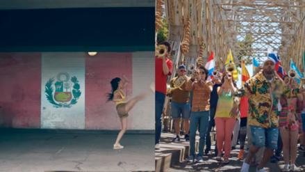 La bandera peruana se luce en el video de la canción oficial del Mundial Rusia 2018.