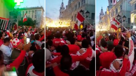Video de hinchas cantando el Himno Nacional en Moscú emociona en las redes