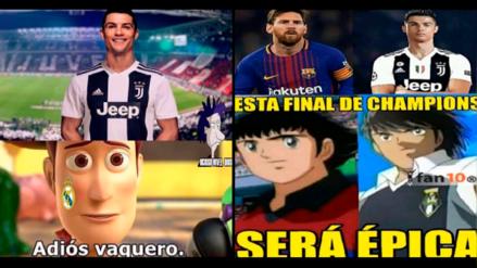Cristiano Ronaldo: siguen los memes de CR7 tras su pase a la Juventus