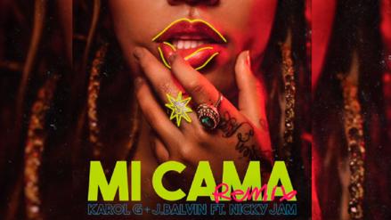 Así suena 'Mi Cama Remix' de Karol G con Nicky Jam y J Balvin