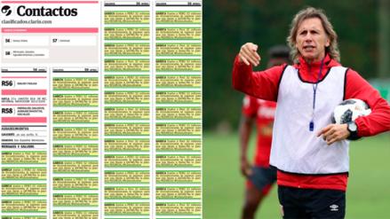 Hincha compró 100 avisos en Argentina pidiendo a Gareca que se quede en la selección peruana