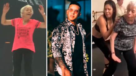 Mujer de 90 años vuelve a enamorar a Daddy Yankee con su baile de