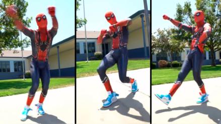 YouTube: Spider-Man hizo el 'Kiki Challenge'  y así reaccionó Thanos