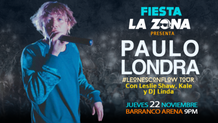 Fiesta La Zona trae por primera vez a Lima a Paulo Londra