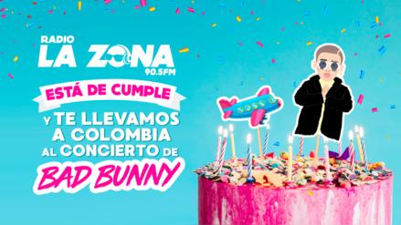 Radio La Zona te lleva a Colombia al concierto de Bad Bunny