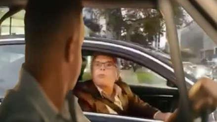 Facebook: Toretto se enfrentó a vecino que amenazó  en la vía pública