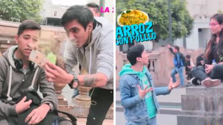 Los Trollers y sus divertidos retos llegaron a la Plaza San Martín