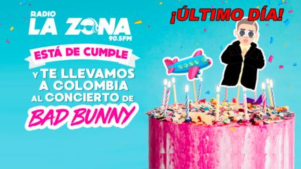 Último día para participar por el concierto de Bad Bunny en Colombia