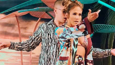 Así se graba el sensual tema de Jennifer Lopez con Bad Bunny