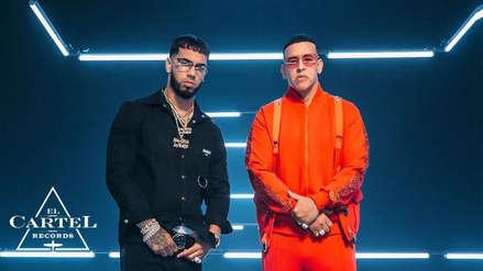 """""""Adictiva"""" de Daddy Yankee y Anuel AA es tendencia en las redes"""