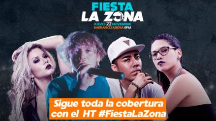 Fiesta La Zona: sigue toda la cobertura con el HT #FiestaLaZona