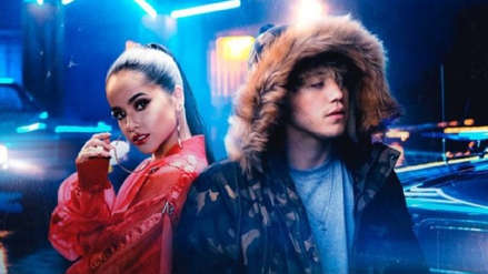 Becky G y Paulo Londra estrenan el video vertical de 'Cuando te besé'