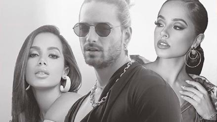 Maluma estrenó el remix de 'Mala Mía' con Becky G y Anitta