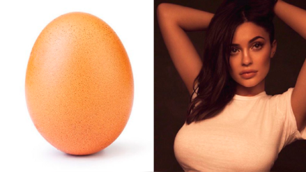 Un 'huevo' es el rey de Instagram tras romper récord de Kylie Jenner