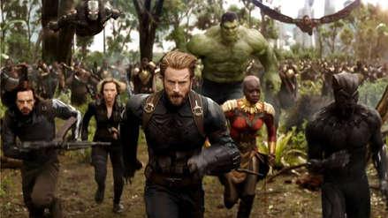 Los Avengers también se sumaron al reto del #10yearChallenge