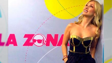 Belén Estévez ya es parte de la familia de radio La Zona