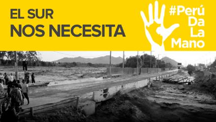 RPP lanza campaña #PerúDaLaMano para llevar esperanza al sur del país