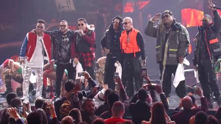 Merecido homenaje recibió Daddy Yankee en Premios Lo Nuestro 2019
