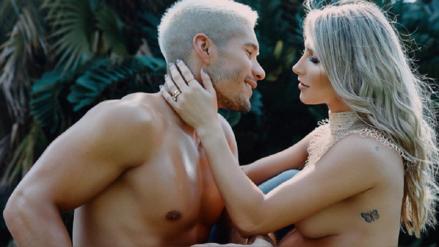 Chyno Miranda comparte tierna  sesión de fotos junto a su esposa