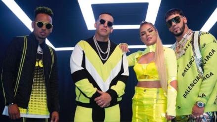 Junte explosivo con Daddy Yankee, Ozuna, Karol G y Anuel AA