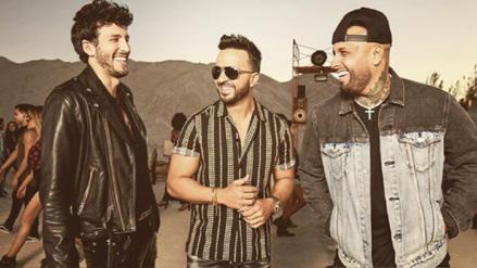 Luis Fonsi estrena 'Date la vuelta' junto a Sebastián Yatra y Nicky Jam
