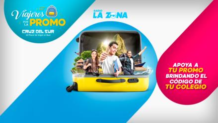 Gana tu viaje de promo totalmente gratis con Cruz del Sur y Radio La Zona