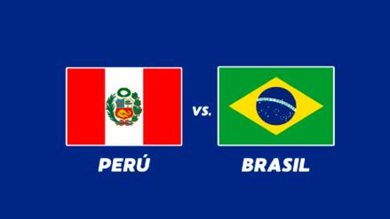 Perú vs. Brasil EN VIVO: conoce la hora, canal y alienación de la bicolor