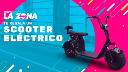 ¡Radio La Zona te regala un Scooter eléctrico!
