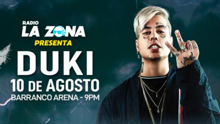 Duki se presentará por primera vez en Lima gracias a La Zona